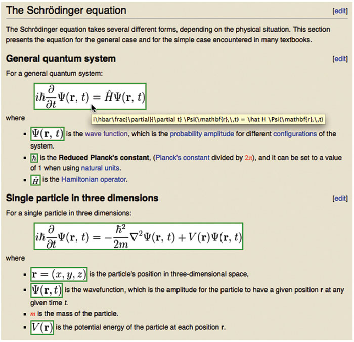 Writing Math On The Web American Scientist