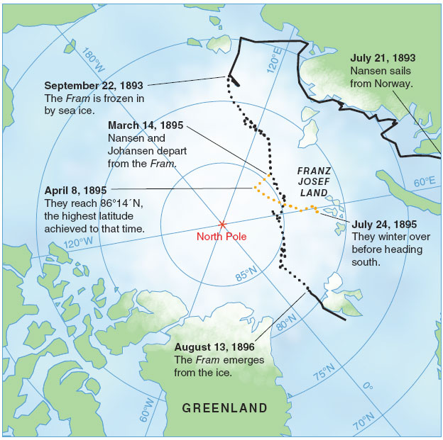 Going With The Floe American Scientist - Greenland latitude