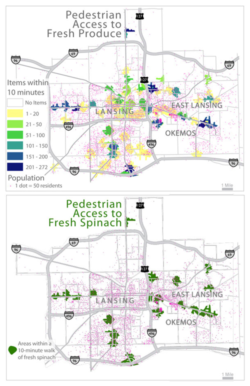 Making Better Maps of Food Deserts | American Scientist