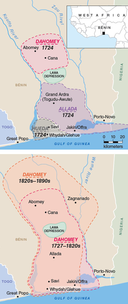 Map Of Africa During Slave Trade.Urbanism On West Africa S Slave Coast American Scientist