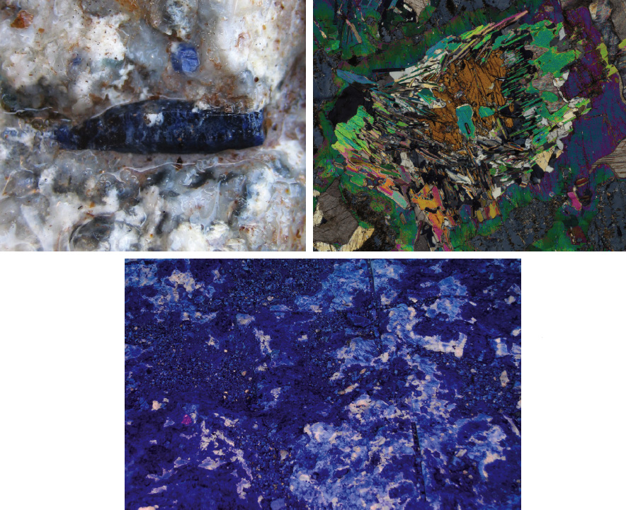 sports shoes a23f2 cf80a Figure 5. Sapphires were discovered by an Inuit hunter on Baffin Island in  Canada in 2002 (top left). A microphotograph taken with cross-polarized  light ...