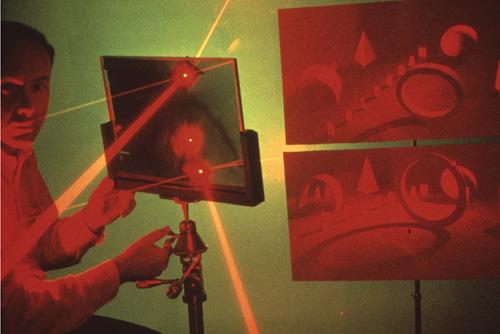 History Hologramm Helm 3D Bild Klingon Maske Holographie